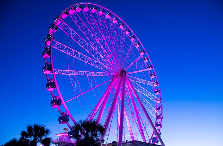 SkyWheel Myrtle Beach in October